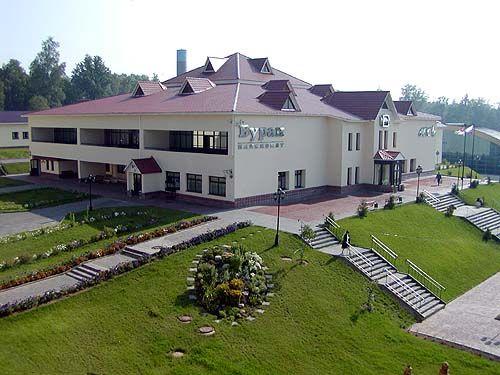 Пансионат Буран расположен в